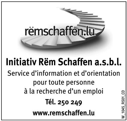 Initiativ Rëm Schaffen a.s.b.l.