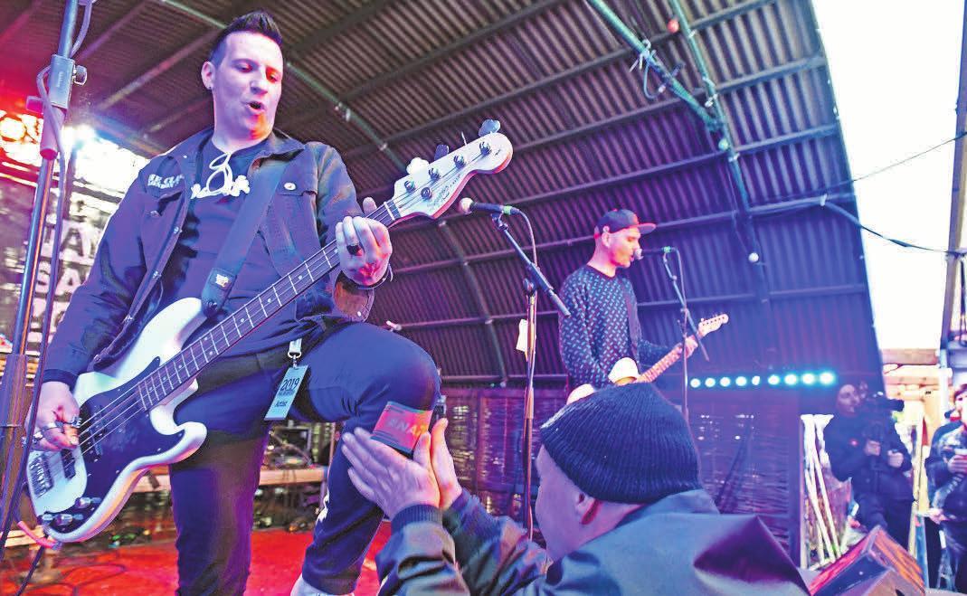 In Deutzen geht Anfang Mai die nächste Auflage von Rock am Kuhteich über die Bühne. Foto: Thomas Kube