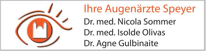 Augenärzte Speyer - Dr. med. Nicola Sommer - Dr. med. Isolde Olivas - Dr. Agne Gulbinaite