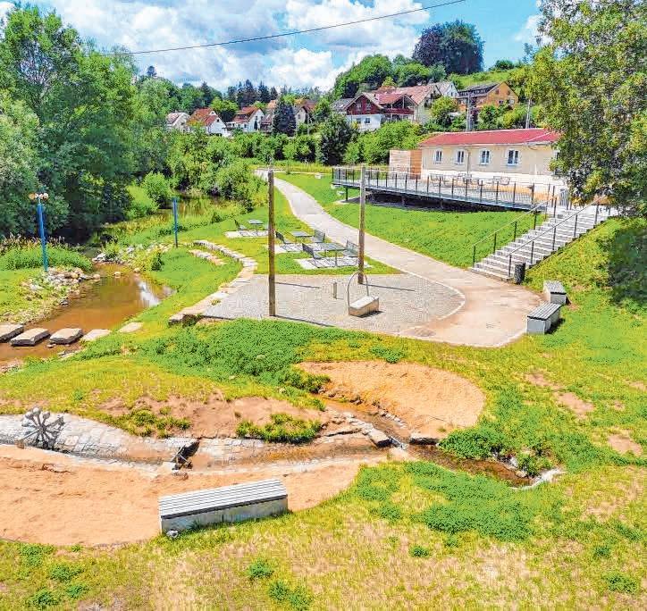 Die Pläne der Gemeinde werden immer zeitnah und erfolgreich umgesetzt.