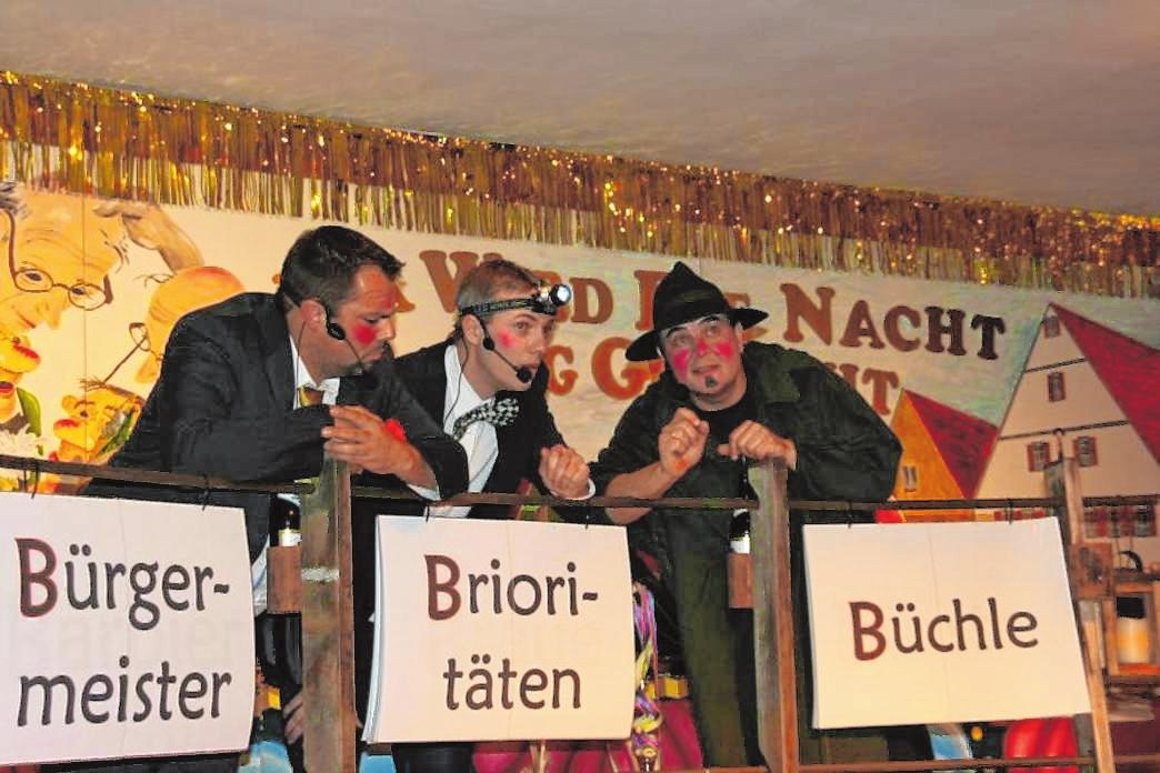 Sorgten vergangenes Jahr für beste Stimmung: die Drei auf der Eselsbrücke. FOTOS: ALFRED GEHRING