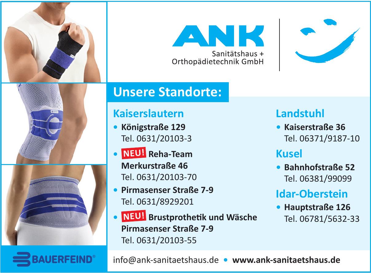 ANK Sanitätshaus Orthopädietechnik GmbH