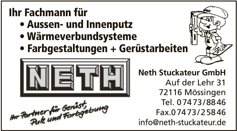 Neth Stuckateur GmbH
