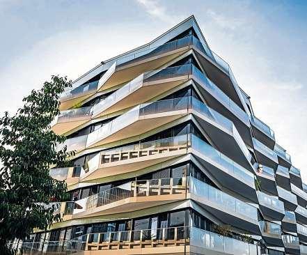 Begehrte Citylage: Obwohl Großstädte derzeit wenig attraktiv erscheinen, steigen die Immobilienpreise kontinuierlich. FOTO: GOLERO / GETTY IMAGES