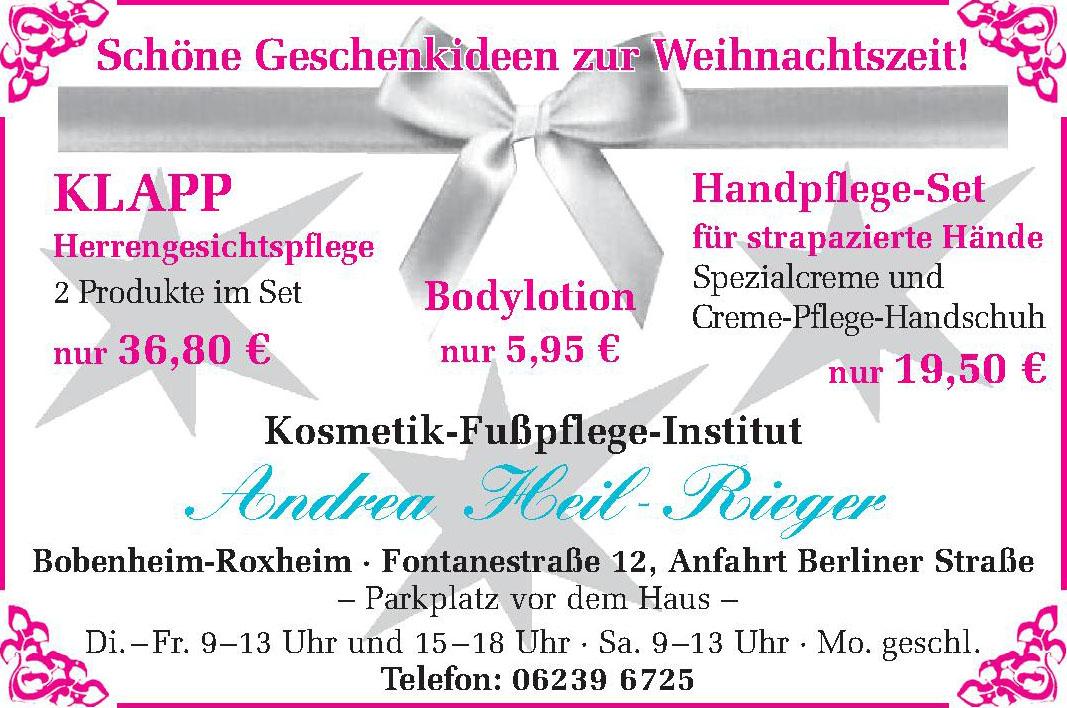 Kosmetik -Fußpflege-Institut Andrea Heil-Rieger