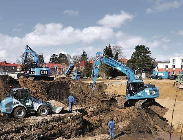 Blau ist die firmentypische Farbe des Schwentinentaler Unternehmens. FOTO: HFR