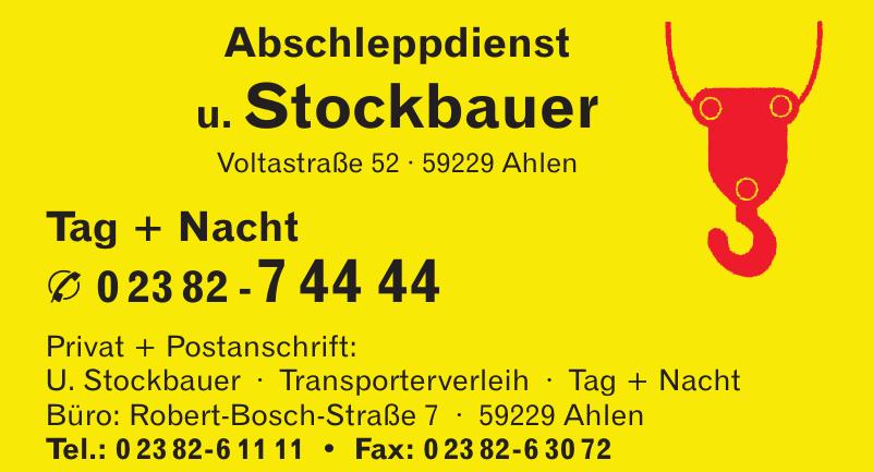 Abschleppdienst u. Stockbauer
