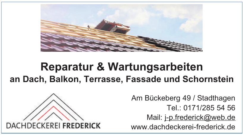 Dachdeckerei Frederick