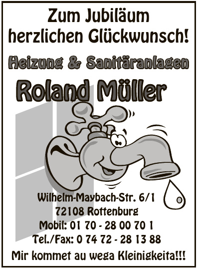 Heizung & Sanitäranlagen Roland Müller