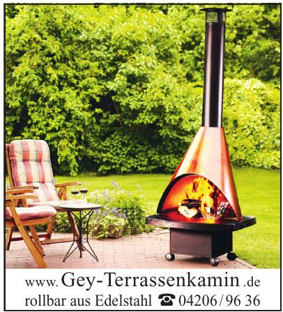 Gey Terrassenkamin
