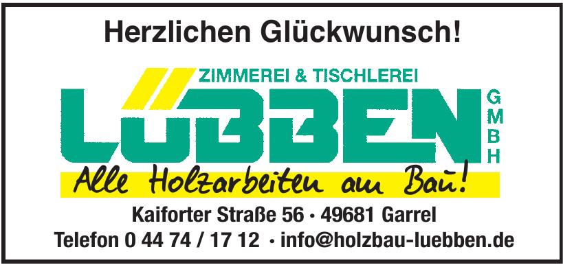 Zimmerei & Tischlerei Lubben GmbH