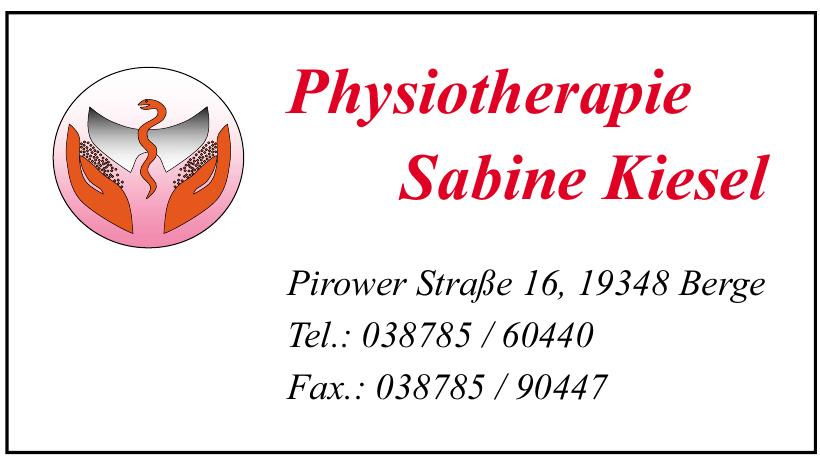 Physiotherapie Sabine Kiesel