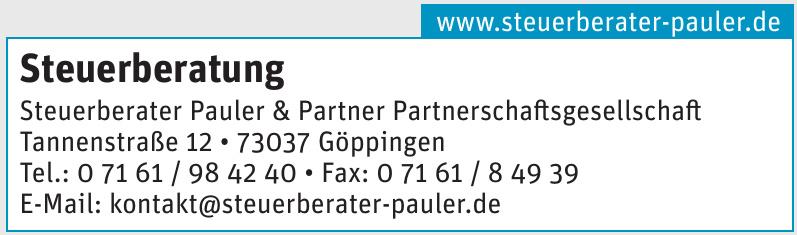 Steuerberater Pauler & Partner Partnerschaftsgesellschaft
