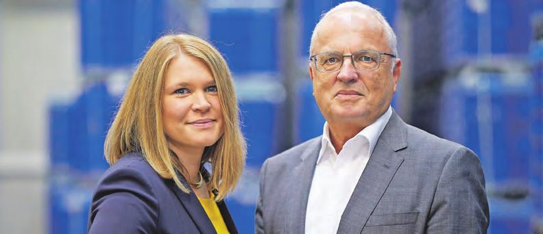 Geschäftsführerin Christina Rami-Mark mit ihrem Vater Rudolf Mark