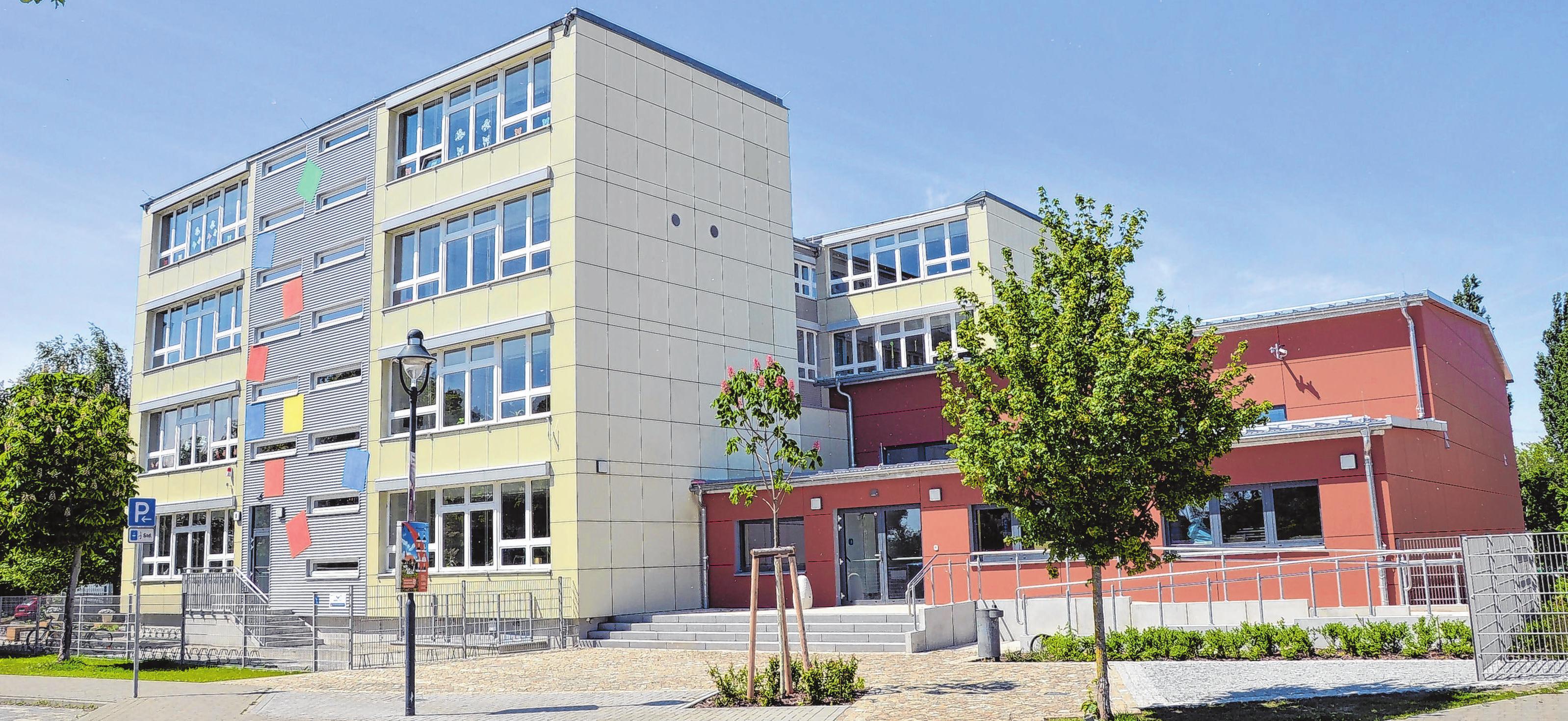 Nach gut zwei Jahren Bauzeit ist der An- und Umbau an der Fontane-Grundschule abgeschlossen. Foto: Vanessa Engel
