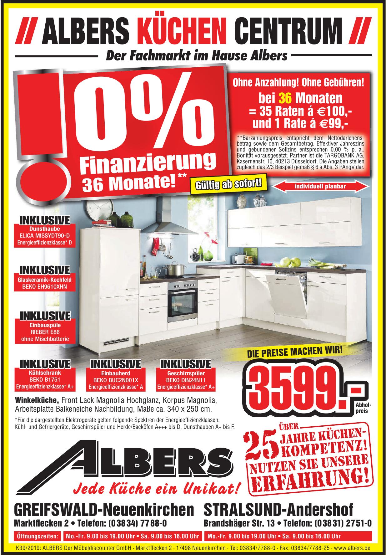 ALBERS Der Möbeldiscounter GmbH ·