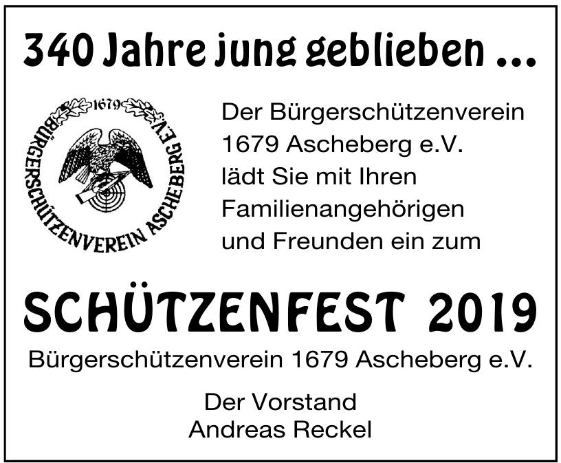 Bürgerschützenverein 1679 Ascheberg e.V.