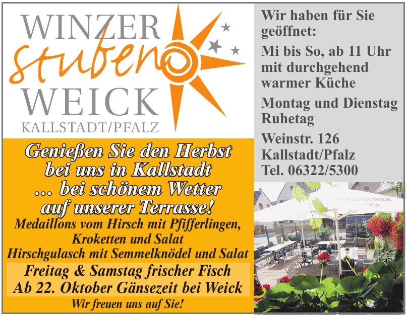 Winzer Stuben Weick