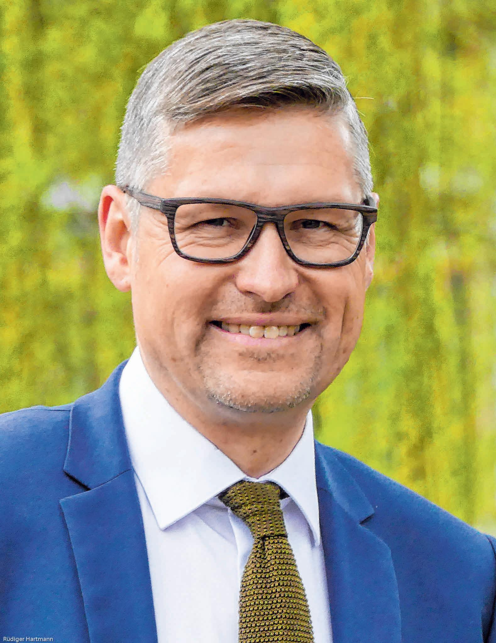 Bürgermeister Stefan Bubeck