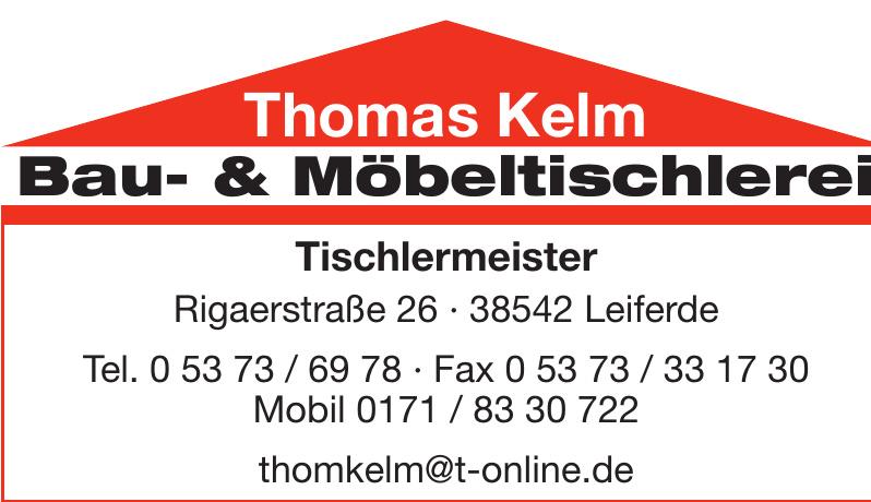Thomas Kelm Bau- und Möbeltischlerei