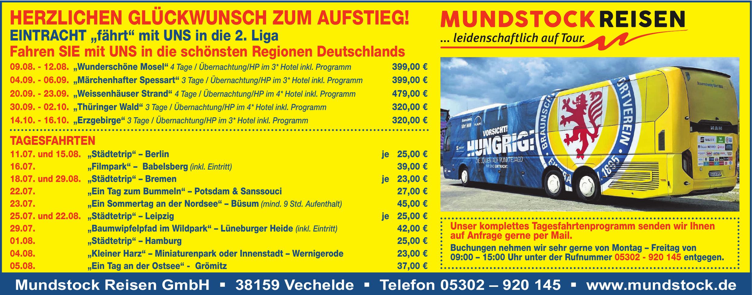 Mundstock Reisen GmbH