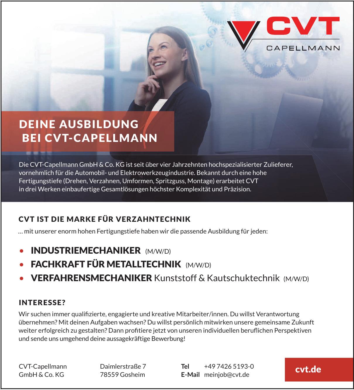 CVT-Capellmann GmbH & Co.KG