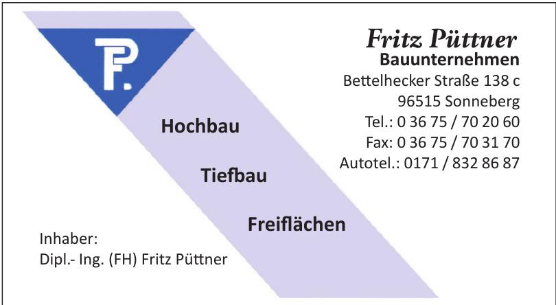 Fritz Püttner Bauunternehmen
