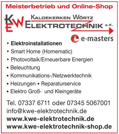 Kaldekerken Wörtz Elektrotechnik e.K.