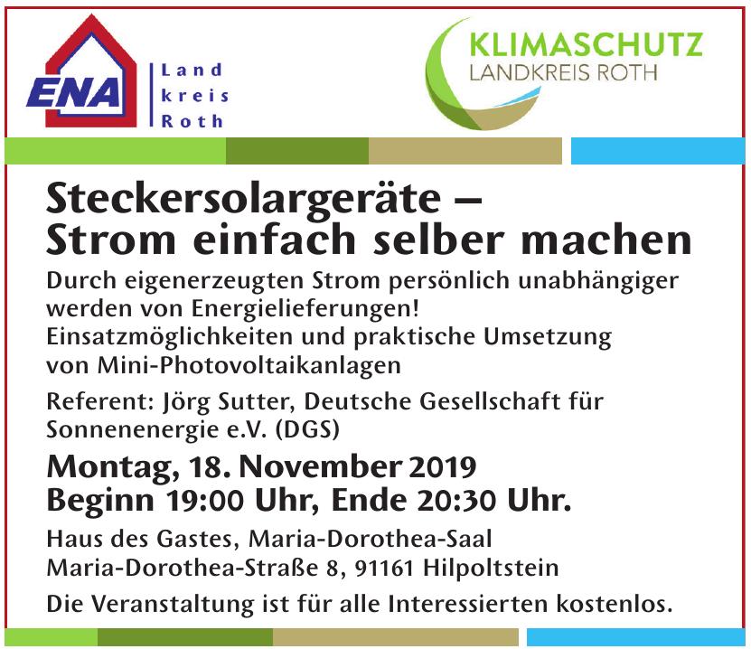 ENA– Unabhängige EnergieBeratungsAgentur Landkreis Roth GmbH