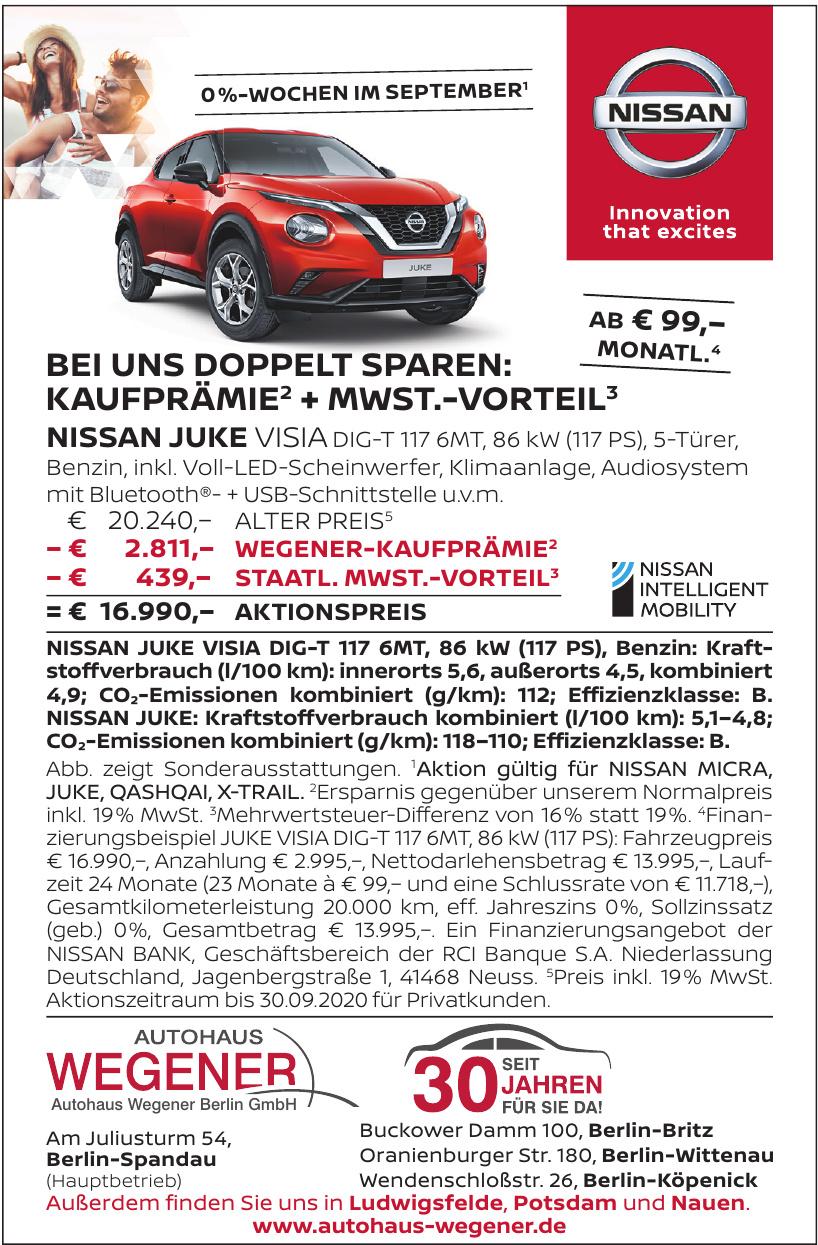 Autohaus Wegener Berlin GmbH