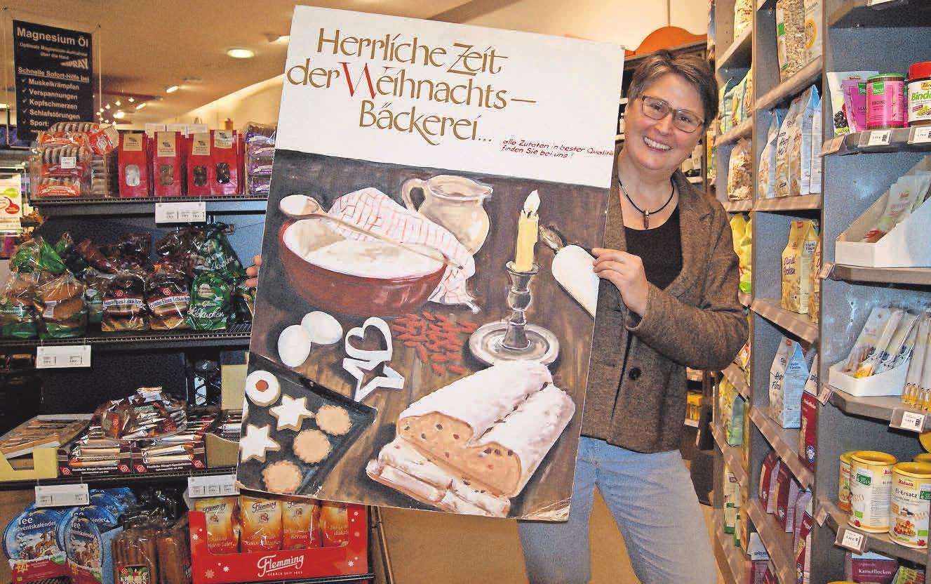 Gesunde Zutaten für die Weihnachtsbäckerei: Bei Ute Schneider gibt es die typischen Weihnachtsgewürze, frisch gemahlene Nüsse und Mohn.