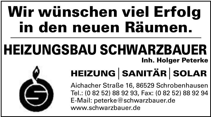 Heizungsbau Schwarzbauer