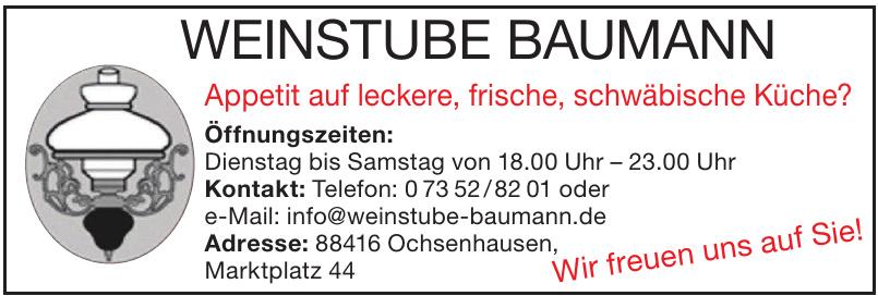 Weinstube Baumann