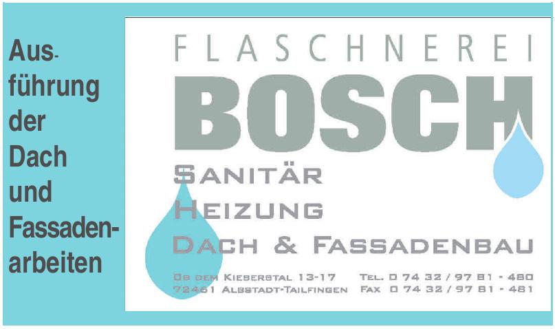 Flaschnerei Bosch