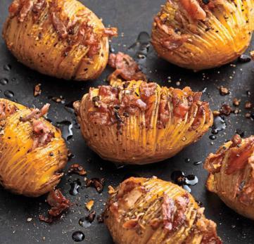 Superlecker sind die Kartoffelfächer vom Rost.