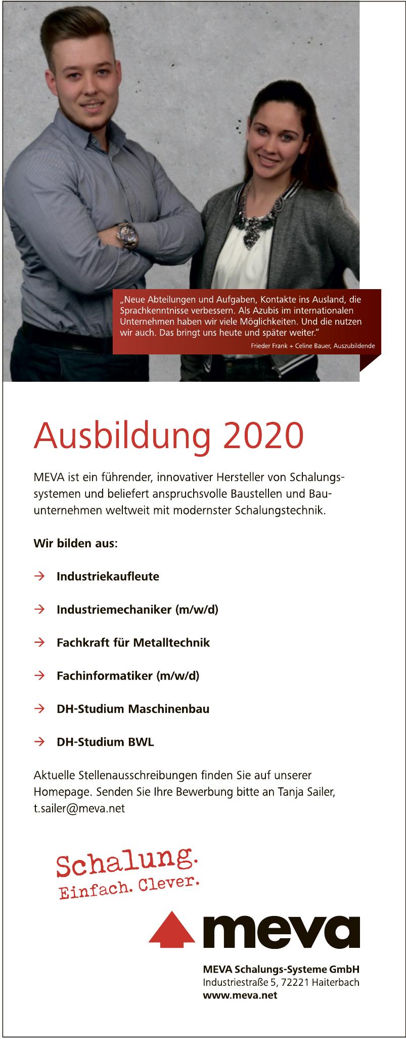 MEVA Schalungs-Systeme GmbH
