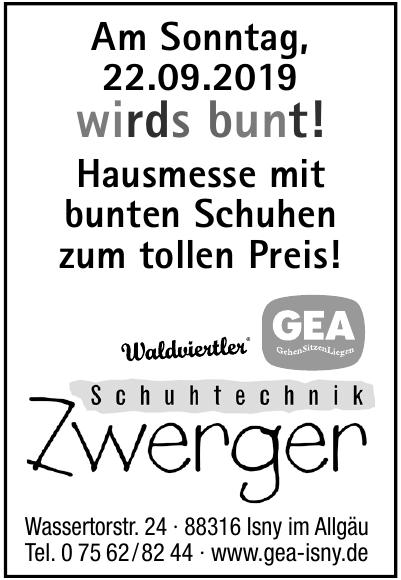 Schuhtechnik Zwerger