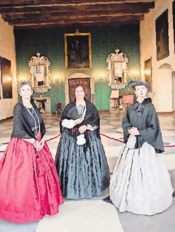 Schloss Marienburg – Kinder-Ferienführung mit Gouvernante. Patrice Kunte