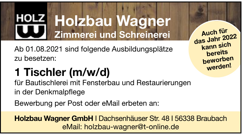 Holzbau Wagner GmbH