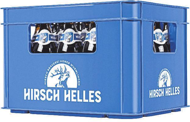 Das Bier der Hirsch-Brauerei Honer in Wurmlingen eignet sich bestens für einen Grillabend. FOTO: PRIVAT