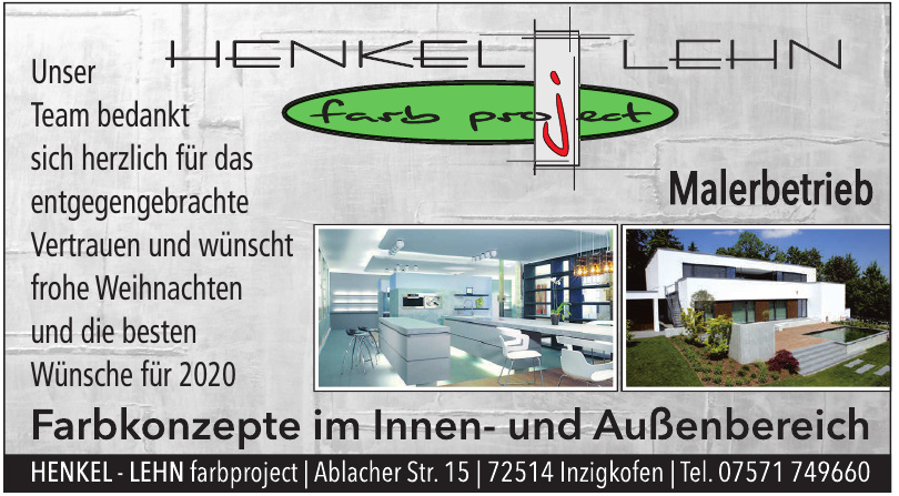 Henkel - Lehn farbproject Malerbetrieb GbR