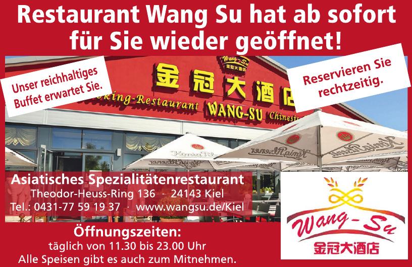 Restaurant Wang-Su