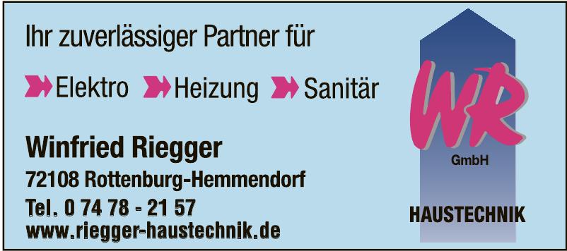 Winfried Riegger GmbH Haustechnik