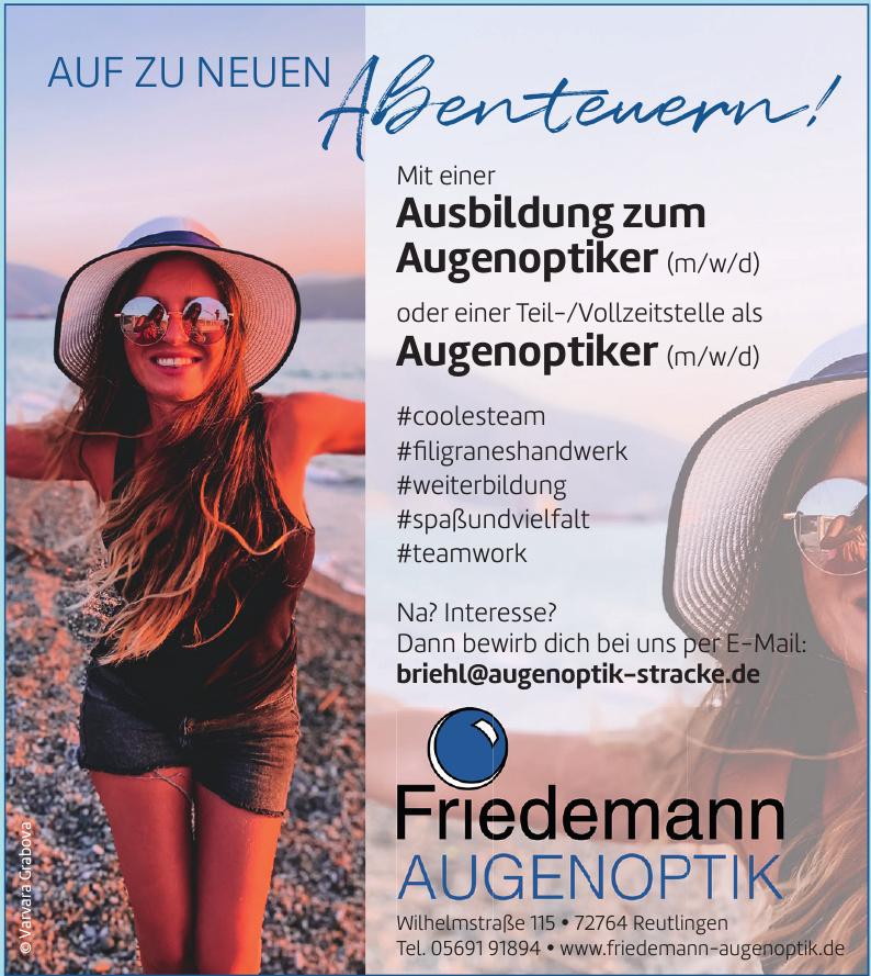 Augenoptik Friedemann