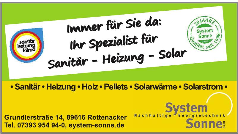 System Sonne GmbH