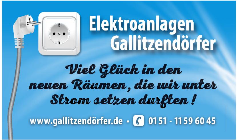 Elektroanlagen Gallitzendörfer