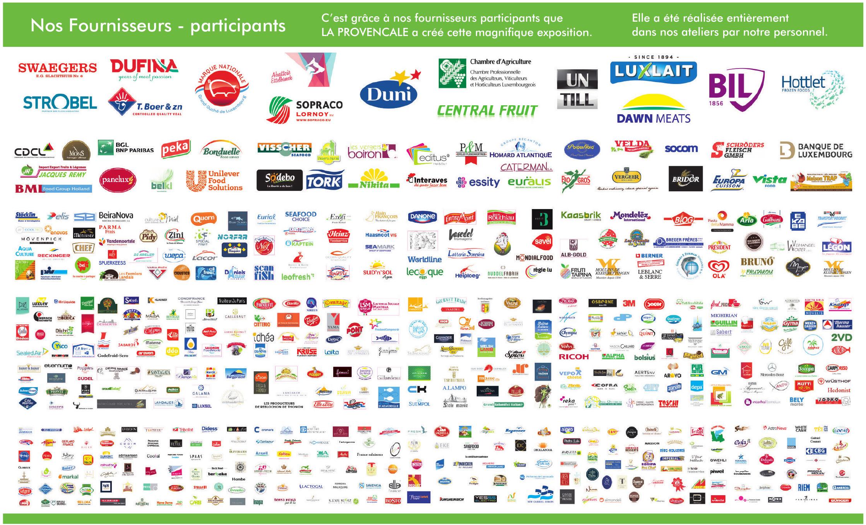 Nos Fournisseurs - participants: La Provensale
