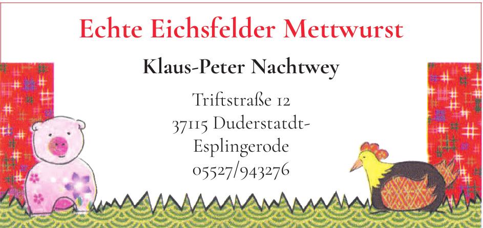 Klaus-Peter Nachtwey