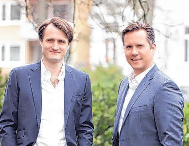Die Unternehmer Christoph Neuhaus und Dr. Alexander Ey stehen hinter wertfaktor