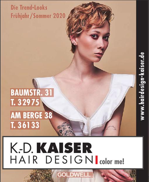 K.-D. Kaiser Hair Design